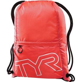 TYR Draw String Backpack, czerwony